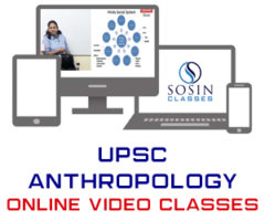 UPSC Anthropology Online Video Classes